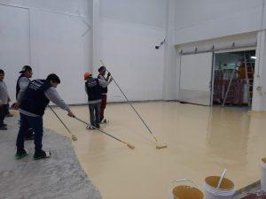 Trabajos -Pisos-Poliuretano-Lima-Perú