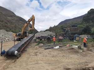 Mantenimiento de Planta de chancadora Movil – Lima – Peru